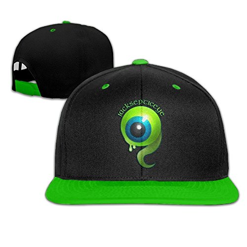[Hip Hop JACKSEPTICEYE Beautiful Art Baseball Cap] (Jumbo Hip Hop Adult Hat)