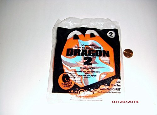 2014 McDonald's How to Train Your Dragon 2 Happy Meal Toy #2 Cloudjumper Mint New Sealed - 1