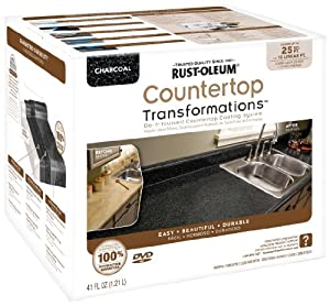 Rustoleum Countertop Paint Amazon : Rust-Oleum 258512 Counter Top Transformations, Small Kit, Charcoal