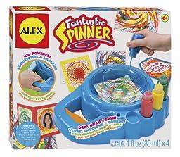 ALEX Toys Artist Studio Fantastic Spinner, PAINT 1 fl oz (30ml)x 4