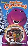 echange, troc  - Barney's Night Before Christmas [VHS] [Import USA]