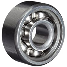 Timken 33 Series Extra Small Ball Bearing, Open, No Snap Ring