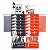 12 Aviator Decks - Jumbo Index