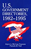 img - for U.S. Government Directories 1982-1995 book / textbook / text book
