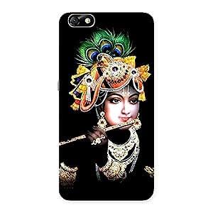 Ajay Enterprises Real Flute Krishna Back Case Cover for Honor 4X