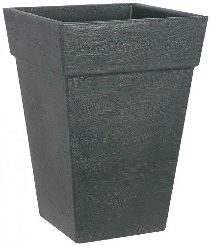 pflanzk bel bologna quadratisch aus kunststoff farbe anthrazit big sale. Black Bedroom Furniture Sets. Home Design Ideas