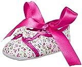 Mee Mee Baby Girl's Pink Cotton Booties - 0-3 Months