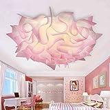 LED-Deckenleuchte Schlafzimmer modernen minimalistischen romantische Persönlichkeit PP Klappleuchte Creative Arts Lampen & Leuchten