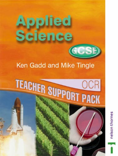 GCSE Applied Science (Double Award): OCR Applied Science Teacher Support Pack