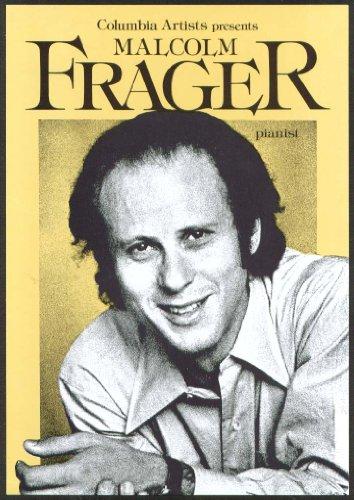 Pianist Malcolm Frager Flyer Bushnell Hartford Ct 1979