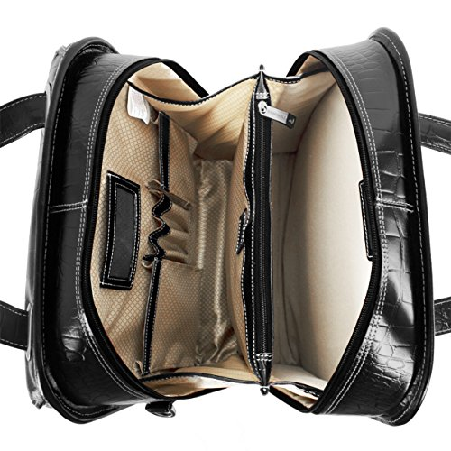 Siamod-Novembre-Leather-156-Rolling-Laptop-Bag-Black