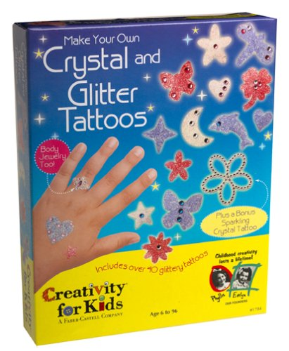 Creativity for Kids Crystal and Glitter Tattoos - Buy Creativity for Kids Crystal and Glitter Tattoos - Purchase Creativity for Kids Crystal and Glitter Tattoos (Creativity for Kids, Toys & Games,Categories,Arts & Crafts,Craft Kits)