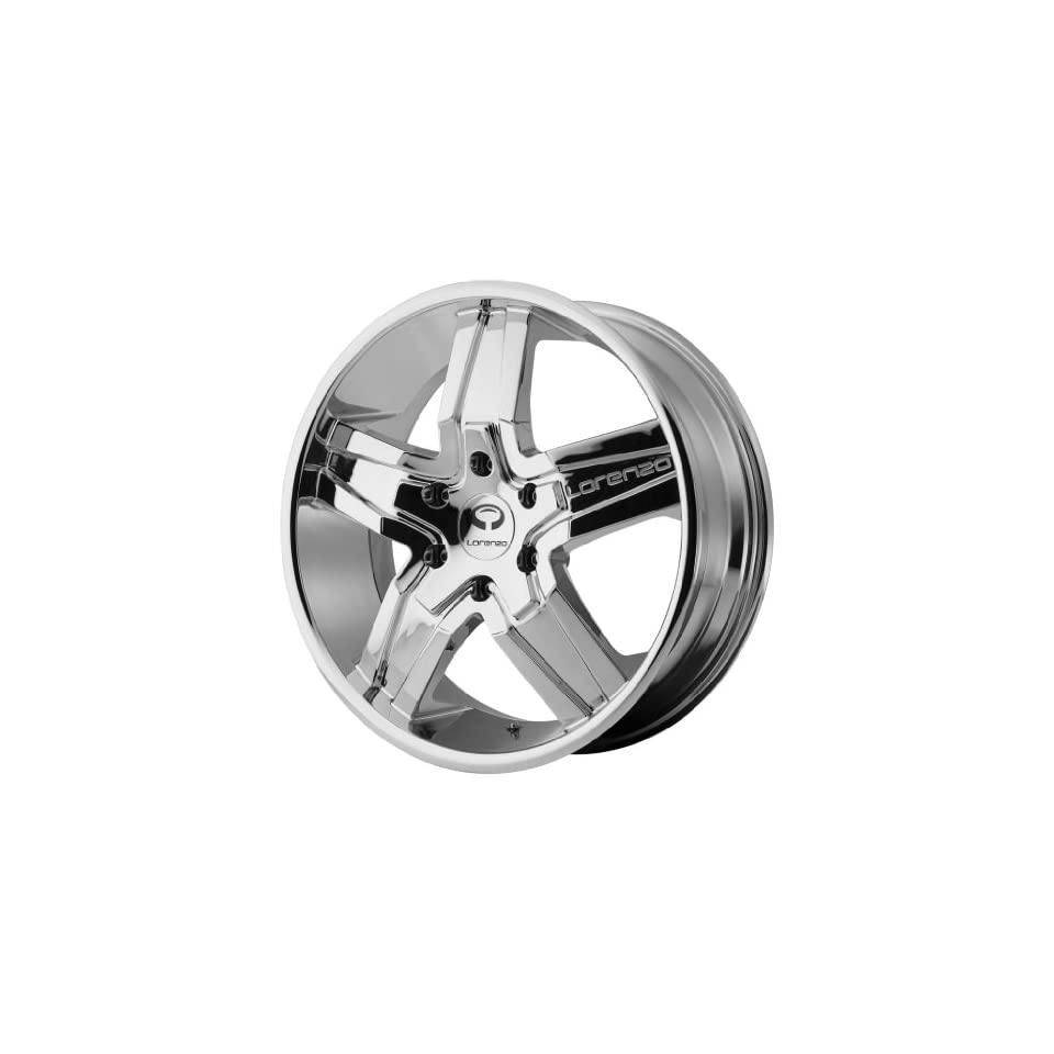 Lorenzo WL030 22x9 Chrome Wheel / Rim 6x5.5 with a 38mm Offset and a 100.50 Hub Bore. Partnumber WL03022962238 Automotive