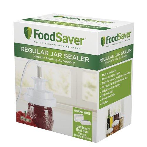 FoodSaver T03-0006-02P Regular-Mouth Jar Sealer image