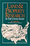 Land & Property Research in the United States (091648968X) by E Wade Hone