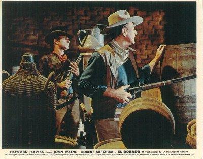 El Dorado John Wayne James Caan Original Lobby Card