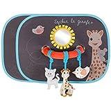 Vulli Set de 2 Pare-soleil avec Arche Activités - Sophie la Girafe