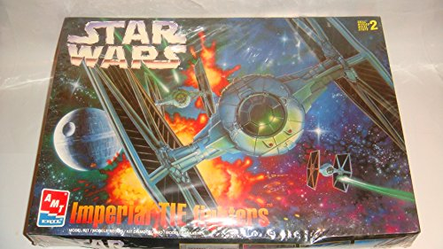 Star Wars Imperial Tie Fighters Model Kit AMT ERTL (Star Wars Amt Model Kit compare prices)