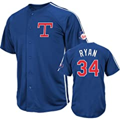 Texas Rangers Nolan Ryan Cooperstown Crosstown Rivalry Jersey by VF