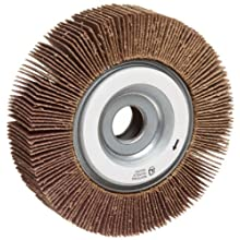 Norton Metalite R265 Abrasive Flap Wheel, 5/8&#034; Arbor, Aluminum Oxide