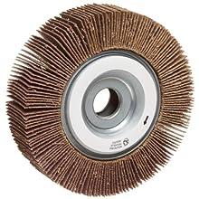 """Norton Metalite R265 Abrasive Flap Wheel, 5/8"""" Arbor, Aluminum Oxide"""