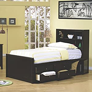 Coaster Home Furnishings 400180f Transitional Bed Full Cappuccino Furniture Decor