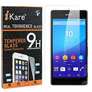 iKare Pack of 2 Tempered Glasses for Sony Xperia Z4, Tempered Screen Protector for Sony Xperia Z4