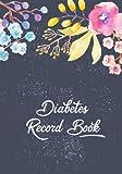 Diabetes Record Book: Diabetic Notebook