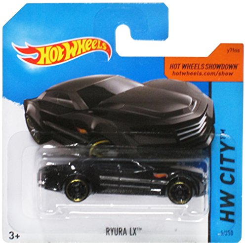 Hot Wheels Hw City Black Ryura Lx on Short Card 5/250 - 1