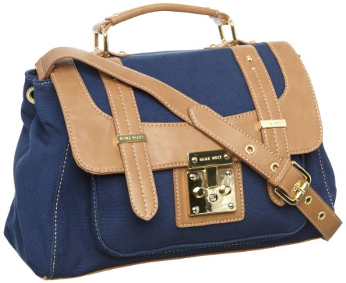 ninewest-colourcode-damen-uberschlagtasche-blau-navy
