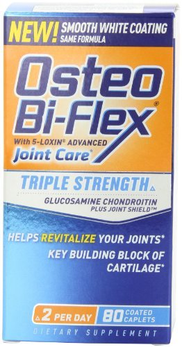 Osteo Bi-Flex Triple Strength With Vitamin D Nutritional Supplement, 80 Count (Pack Of 3) front-22619