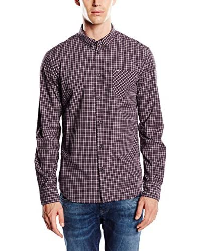 Pepe Jeans London Camisa Hombre Graff Granate