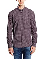 Pepe Jeans London Camisa Hombre Graff (Granate)