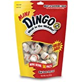 Dingo Rawhide Mini Bones, 14-Count