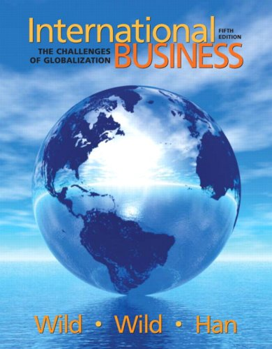 International Business: The Challenges of Globalization...