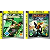 "Uncharted: Drakes Schicksal / Ratchet & Clank:Tools of Destruction  (Platinum Double Pack)von ""Sony Computer..."""