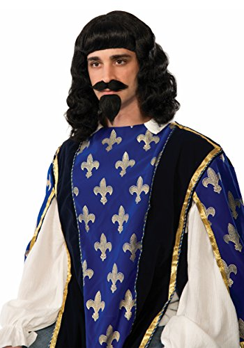 Musketeer Wig, Beard & Moustache
