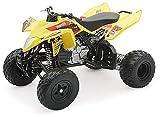 2009 ATV Suzuki Quadracer R450 [NewRay 43403], Rockstar Makita Yoshimura Team, 1:12 Die Cast