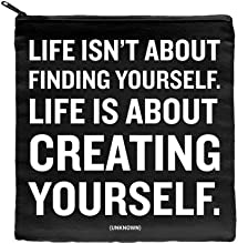 Quotable Pouch - Life is about creating yourself