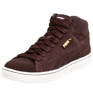 PUMA Men's Mid S Basketball Shoe, Black Coffee/Grey, 8.5 M US | Amazon