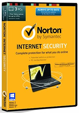 Norton Internet Security 21.0 - 3 Computers, 1 Year Subscription (PC) [2014 Edition]