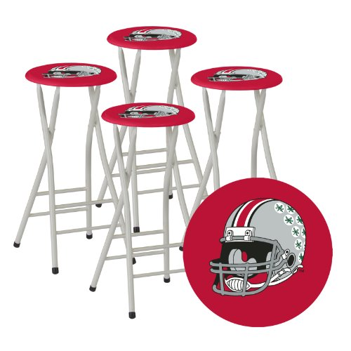 Best Of Times Collegiate Bar Stools Ohio State Set Of 4