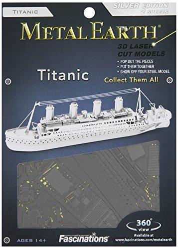 Fascinations Metal Earth Marvels Titanic - 1