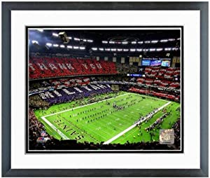 New Orleans Saints Superdome NFL Stadium Photo (Size: 18 x 22) Framed by NFL