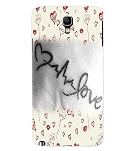 ColourCraft Love Art Design Back Case Cover for SAMSUNG GALAXY NOTE 3 NEO N7505