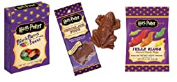 Harry Potter Candy Lover\'s Pack - Bertie Botts/Chocolate Frog/Jelly Slugs