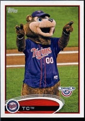 2012 Topps Opening Day Mascots Baseball Card #M -19 TC - Minnesota Twins - MLB Trading Card