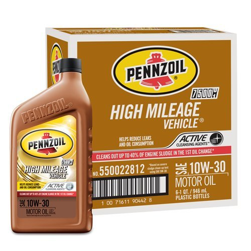 pennzoil-550022812-6pk-10w-30-high-mileage-vehicle-motor-oil-1-quart-pack-of-6