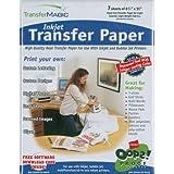 "Transfer Magic Ink Jet Transfer Paper-8-1/2""X11"" 7/Pkg"
