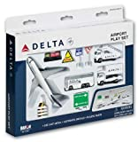Delta Airlines Die-Cast Airport Play Set